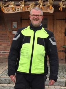Fahrlehrerausbildung, Quintus von Tiedemann, Motorradtraining